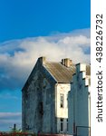 old urban shabby houses | Shutterstock . vector #438226732