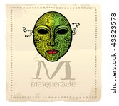 Masquerade Poster With Green...
