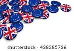 brexit british referendum... | Shutterstock . vector #438285736