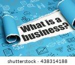 business concept  black text... | Shutterstock . vector #438314188