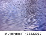 ripples on the water surface | Shutterstock . vector #438323092