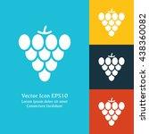 vector illustration of grape...
