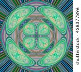 abstract background laser light ... | Shutterstock . vector #438377896