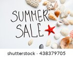 Sale  Summer Background With...