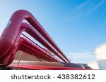fire protection piping and fuel ...   Shutterstock . vector #438382612