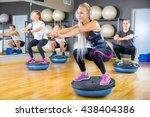 Focused Group Training Squats...