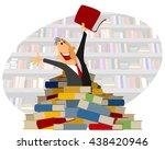 vector illustration of a... | Shutterstock .eps vector #438420946
