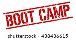 boot camp stamp.stamp.sign.boot.... | Shutterstock .eps vector #438436615