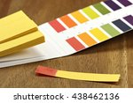 Small photo of universal indicator paper with acidic testing