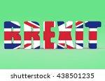 british referendum brexit vote...   Shutterstock . vector #438501235