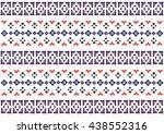 geometric ethnic pattern design ...
