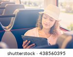 Young Woman Traveling From...