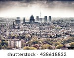 bruxelles skyline. buildings of ... | Shutterstock . vector #438618832