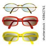 sunglasses | Shutterstock .eps vector #43862761