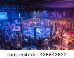 Blurred Background Of Mma Figh...