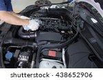 auto mechanic repairman... | Shutterstock . vector #438652906