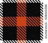 vector seamless tartan plaid...   Shutterstock .eps vector #438660388
