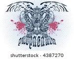 vintage emblem | Shutterstock .eps vector #4387270