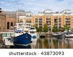 st katharine dock in london  uk | Shutterstock . vector #43873093