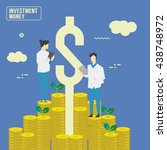 money investment | Shutterstock .eps vector #438748972