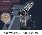 infographic time   Shutterstock .eps vector #438800455
