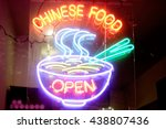 Chinese Food Neon Sign And...