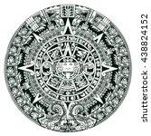 Mayan Symbols Calendar
