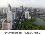 jakarta officially the special... | Shutterstock . vector #438907552