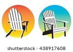 vector illustrations of two... | Shutterstock .eps vector #438917608