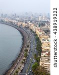 aerial view of marine drive in... | Shutterstock . vector #438919222