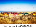 Colorful Beach Houses In Dune...