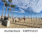 santa monica  usa   june 18 ... | Shutterstock . vector #438991015