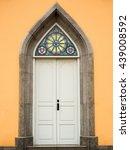 The Granite Stone Door Of Old...