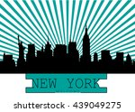 New York City Skyline Detailed...