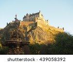 edinburgh castle | Shutterstock . vector #439058392