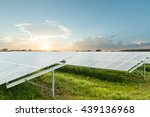 photovoltaic modules for... | Shutterstock . vector #439136968