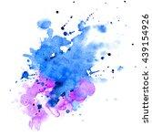 watercolor background for... | Shutterstock . vector #439154926