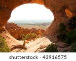 partition arch in devil's garden | Shutterstock . vector #43916575