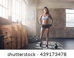 full length shot of determined... | Shutterstock . vector #439173478