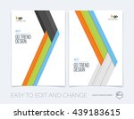 set of covers design template... | Shutterstock .eps vector #439183615