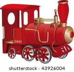 Children's Toy Red Steam...