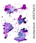 set of colorful abstract... | Shutterstock .eps vector #439276612