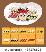 sushi   Shutterstock .eps vector #439276828