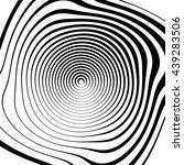 irregular spiral background in... | Shutterstock .eps vector #439283506