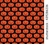 halloween background. seamless... | Shutterstock .eps vector #439286236