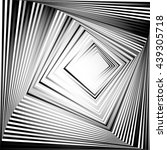 rotating squares. abstract...   Shutterstock .eps vector #439305718