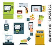 finance and money icon set... | Shutterstock .eps vector #439308502