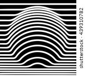 optical illusion circle  vector   Shutterstock .eps vector #439310782