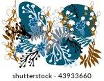flower | Shutterstock .eps vector #43933660