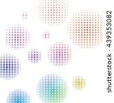 vector pattern. geometric color ... | Shutterstock .eps vector #439353082